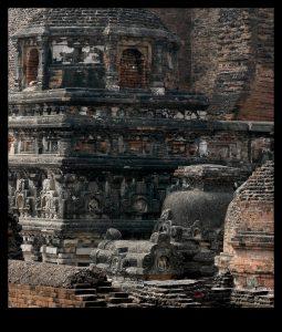 Nalanda Ruins, Main Stupa by Carol Mitchell